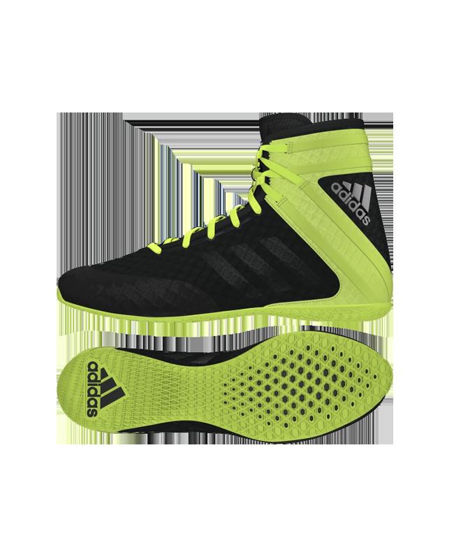 adidas Speedex 16.1 Boxschuhe schwarz/neon AQ3408 EU40 2/3 UK7