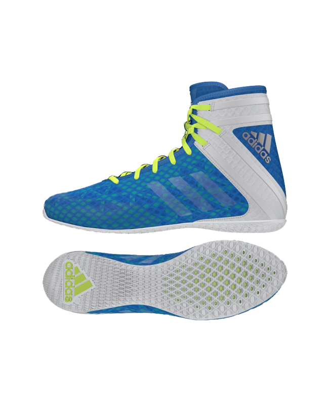 adidas Speedex 16.1 Boxschuhe weiß/blau AQ3407