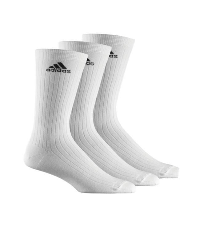 adidas Sportsocken weiß 3er-Pack lang Z11422/ AA2297