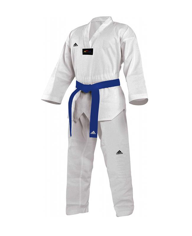 adidas Start Taekwondo Anzug weißes Revers adiTS01
