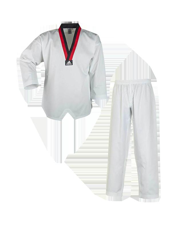 adidas Taekwondoanzug Poom weiß 170 cm T220.DRBB 170cm