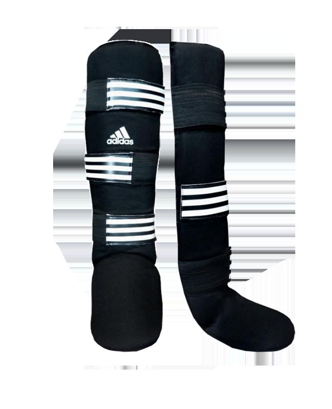 adidas Textile Shin Instep Guard schwarz/weiß adiGSS013