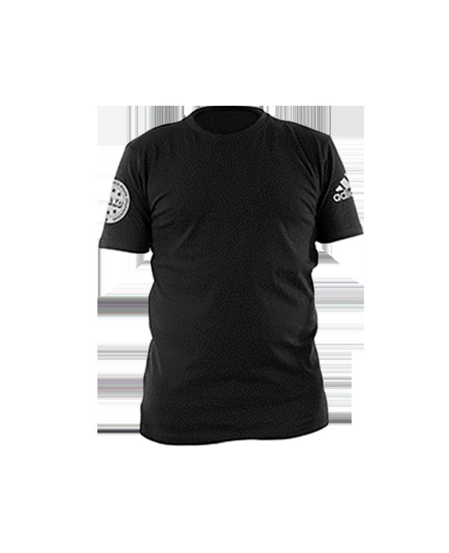adidas Wako Leisure T-Shirt schwarz/silber adiWAKOT1