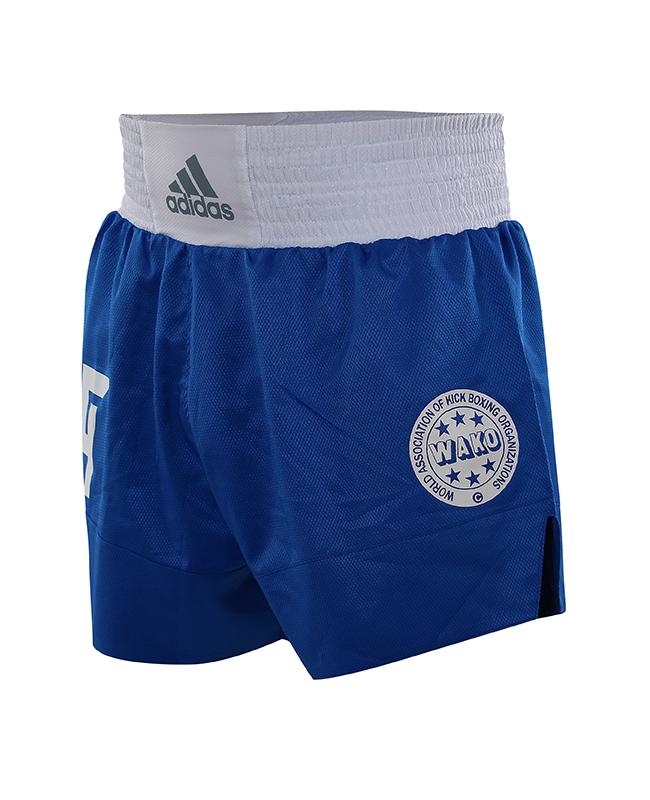 adidas Wako Technical Apparel Kick Boxing Shorts blau adiLKS1