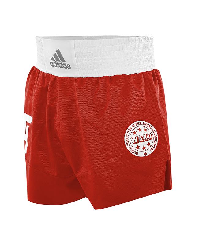 adidas Wako Technical Apparel Kick Boxing Shorts rot adiLKS1