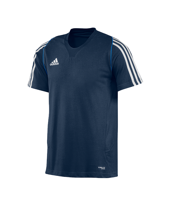 adidas T12 Team Shirt men SS Gr.10 Kurzarm blau XL adi X12937 10