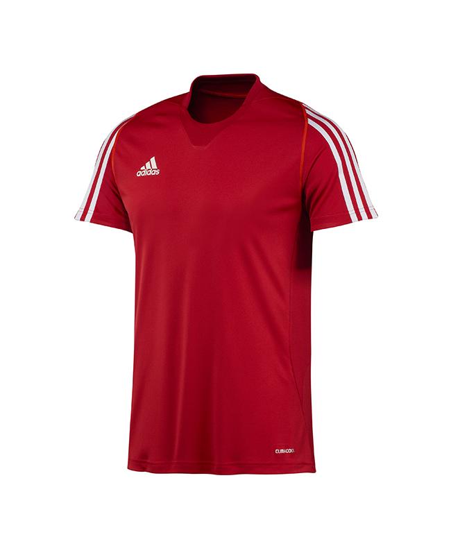 adidas T12 Clima Cool T-Shirt men Gr.06 Kurzarm rot M adi X12941 06