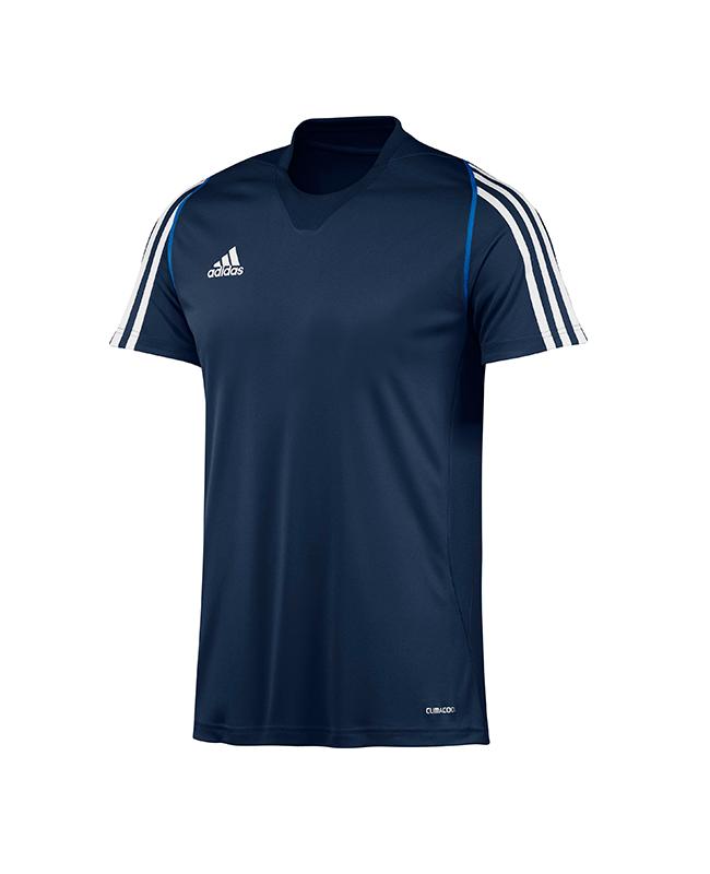 adidas T12 Clima Cool T-Shirt men Gr.12 Kurzarm blau XXL adi X12942 12