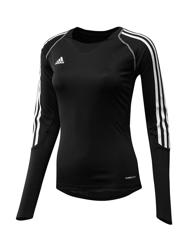 adidas T12 Clima Cool Shirt Langarm WOMAN schwarz adi X13170 48