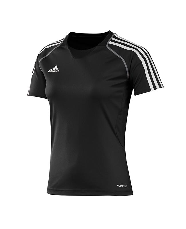 adidas T12 Clima Cool Shirt Kurzarm WOMAN schwarz adi X13853 50