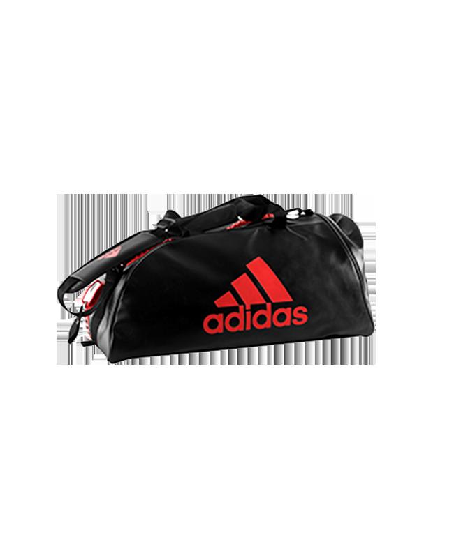 adidas WAKO Sporttasche Zipper Bag 2 in 1 schwarz/rot adiACC051