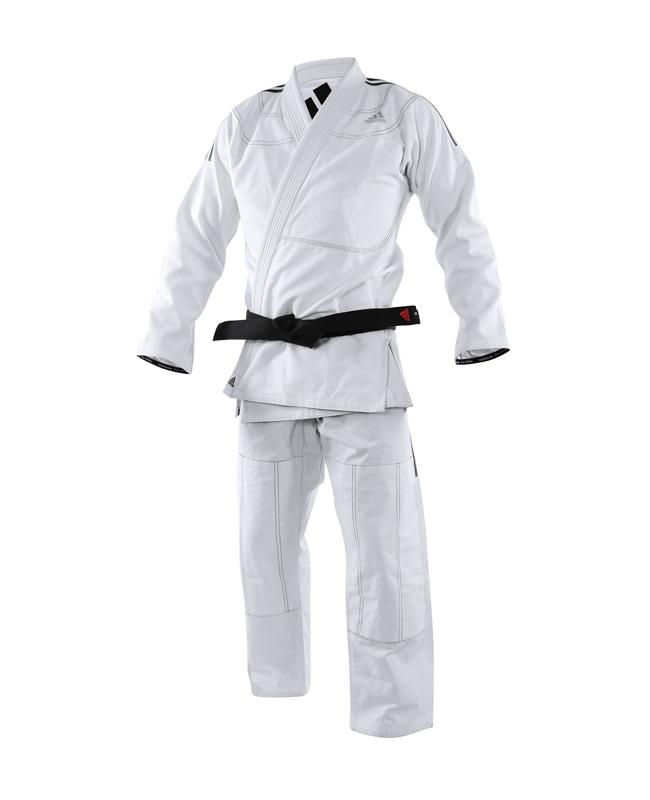 adidas BJJ Contest Brazilian Jiu Jitsu Anzug A1,5-175cm weiß JJ430 A1.5