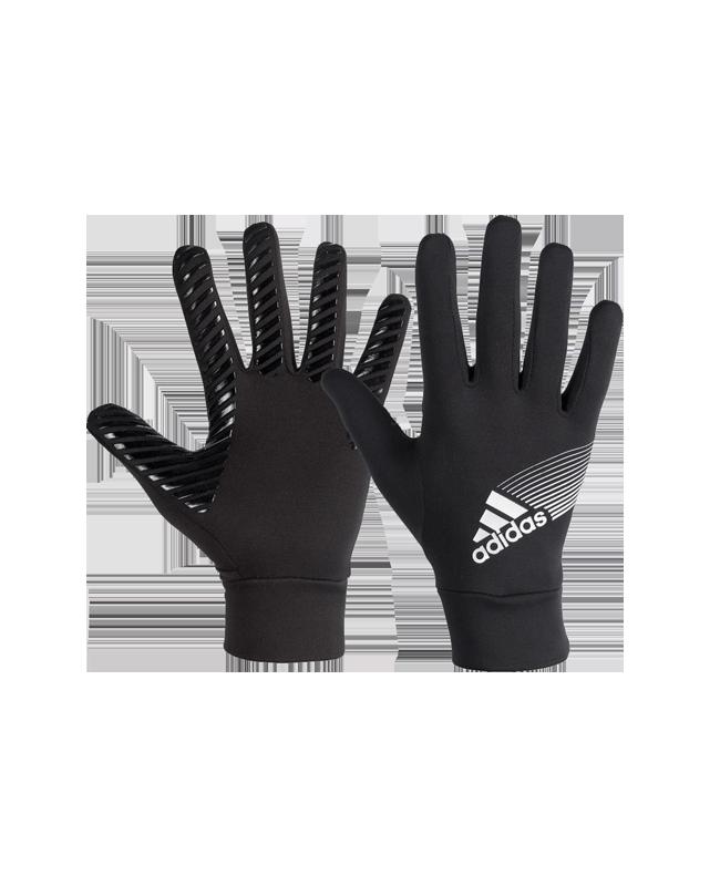 adidas Field Player Handschuhe schwarz/silber W44097