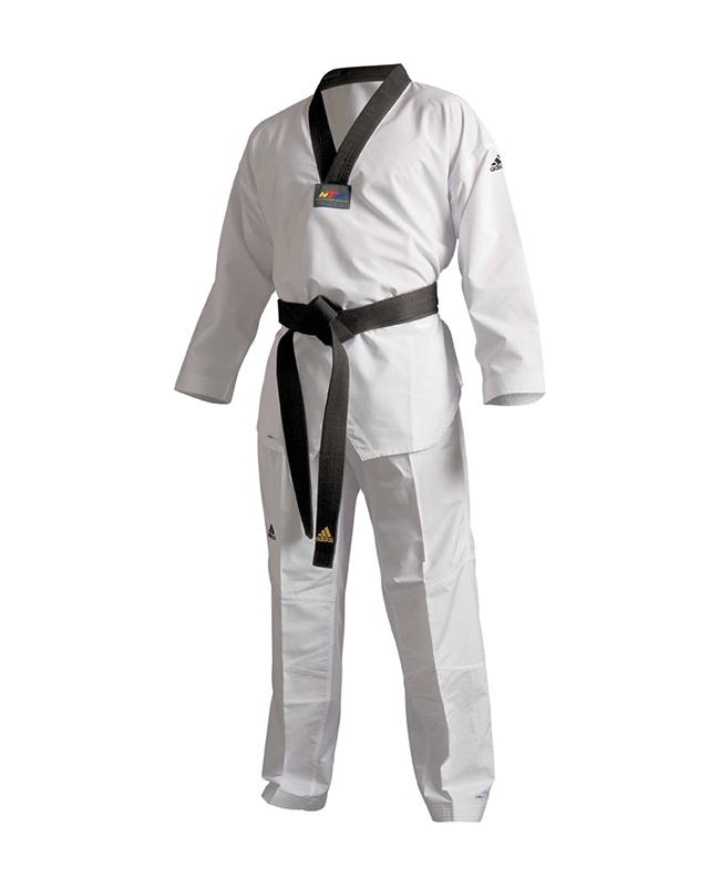 adidas ADI FLEX Taekwondo Anzug 200 schwarzes Revers WTF approved  ADITFL01 210cm