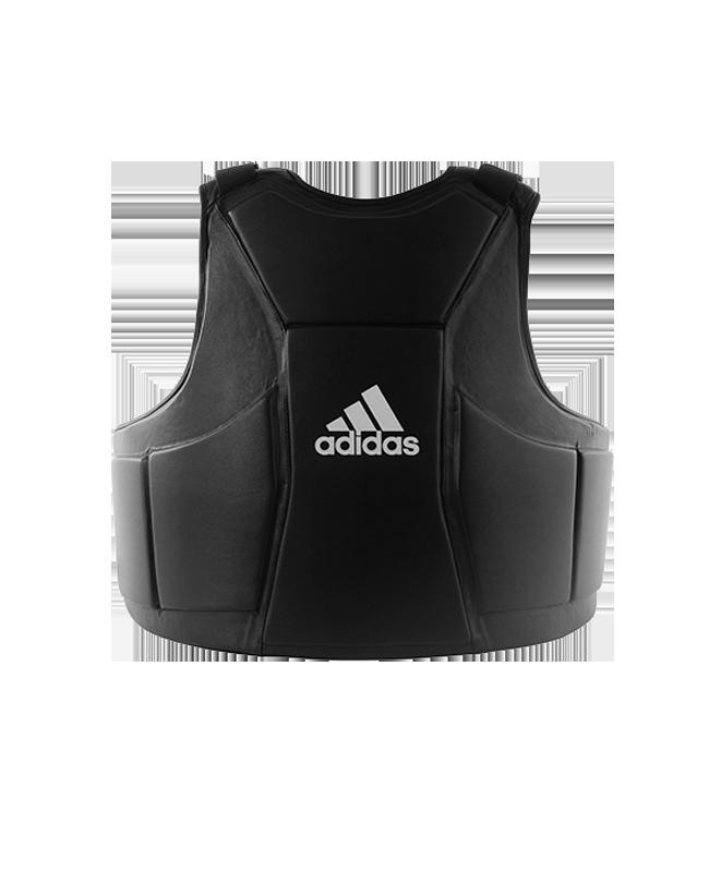 adidas Bauchschild Boxing Chest Protector Trainer Schutzweste schwarz ADIP04