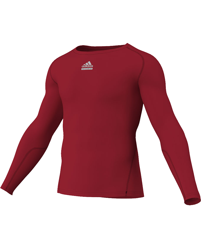 adidas Compression Shirt TF C&S LS rot adiP92261 XXL