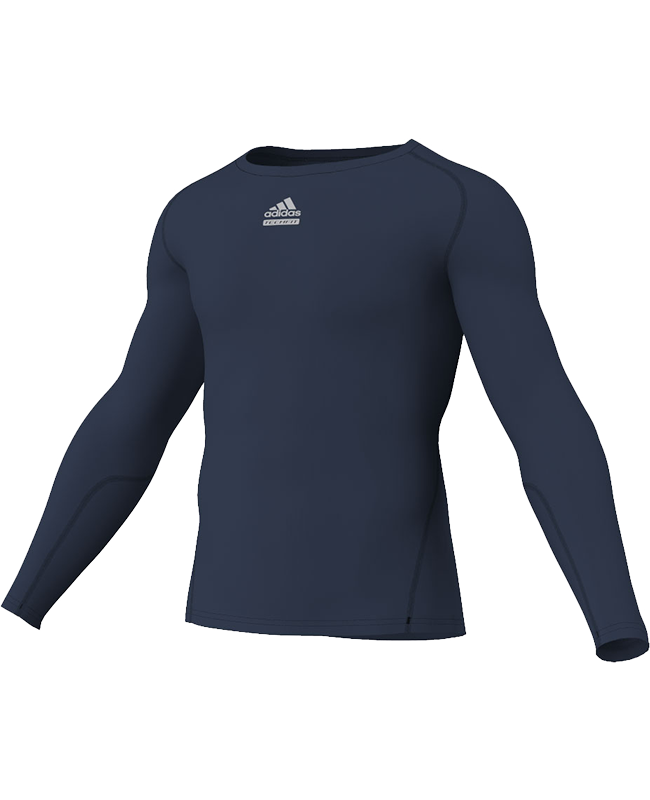 adidas Compression Shirt TF C&S LS blau adiP92266 S
