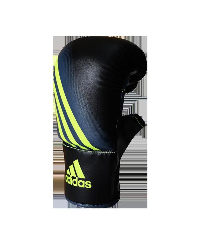 adidas Boxhandschuhe Speed 100  Bag Glove schwarz gelb L/XL ADISBGS100 L/XL