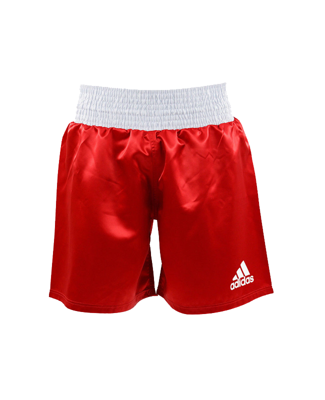 adidas Multi Boxing Short rot weiss size S ADISMB01-2 S