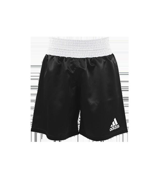 adidas Multi Boxing Short schwarz weiss ADISMB01-2