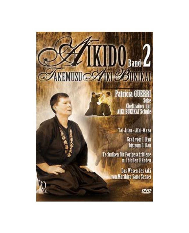 DVD, Aikido Takemusu Aiki Bukikai Band 2 IP 175