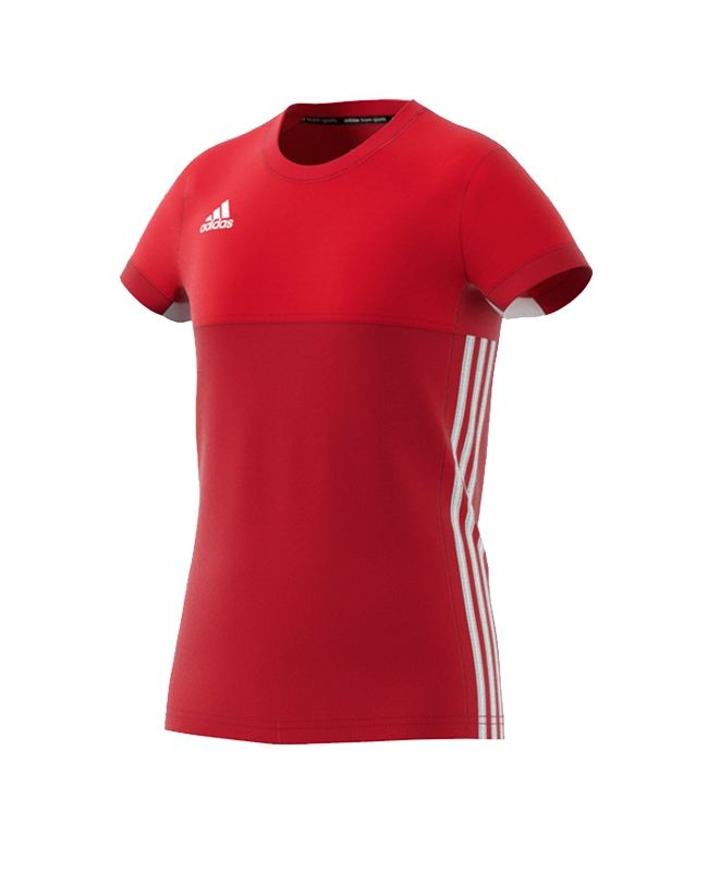 adidas T16 Climacool TEE YOUTH GIRLS size 164 rot AJ5256 164