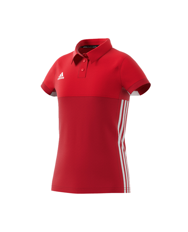 adidas T16 Climacool POLO YOUTH GIRLS size 176 rot AJ5259 176