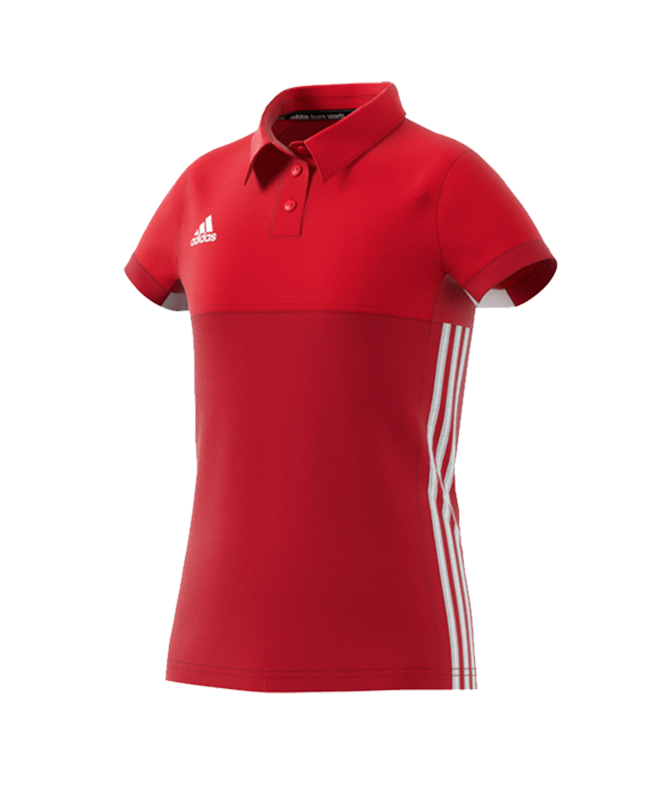 adidas T16 Climacool POLO YOUTH GIRLS rot AJ5259 164