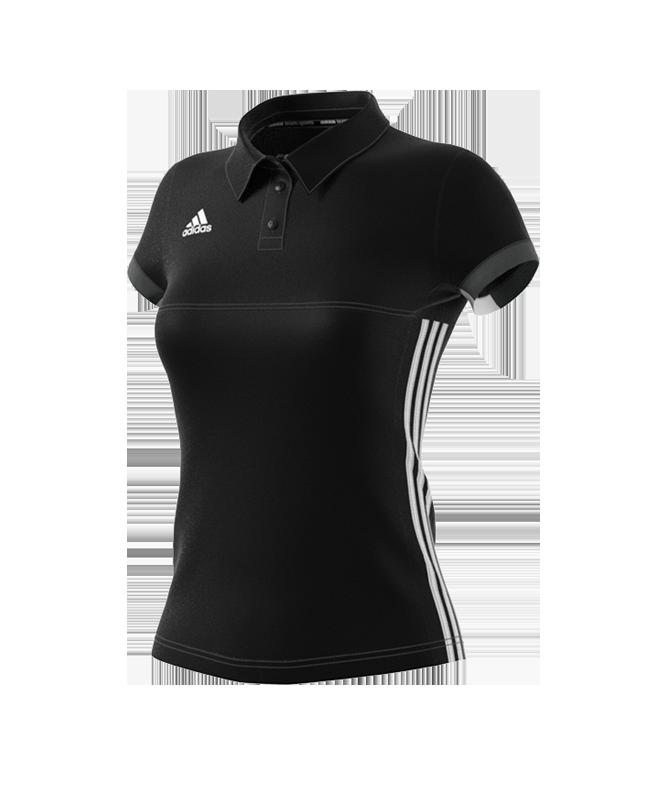 adidas T16 TEAM POLO WOMAN size XS schwarz/grau AJ5273 XS