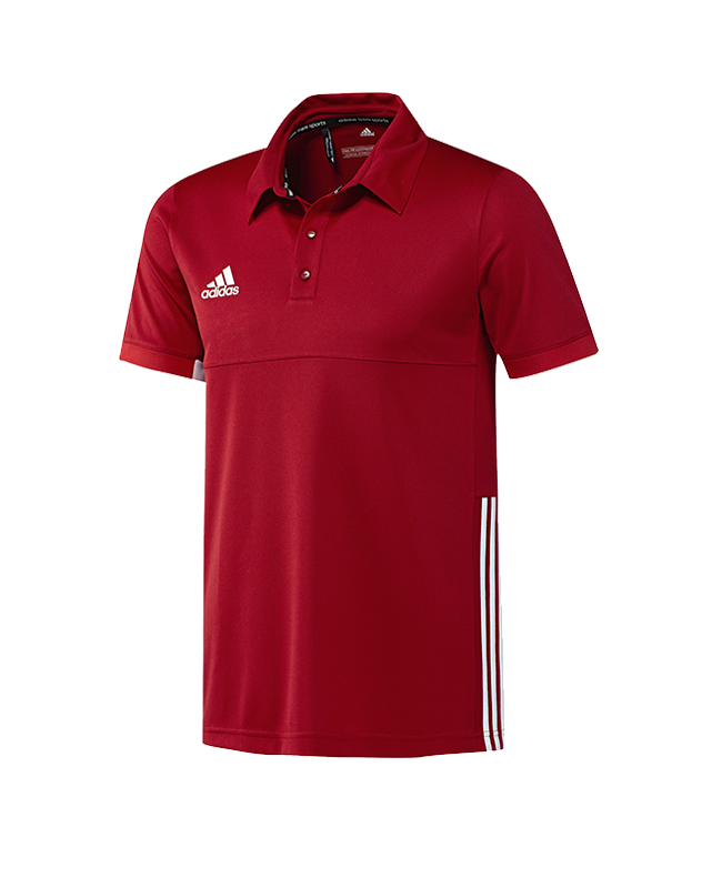 adidas T16 TEAM POLO Men size S rot AJ5279 S