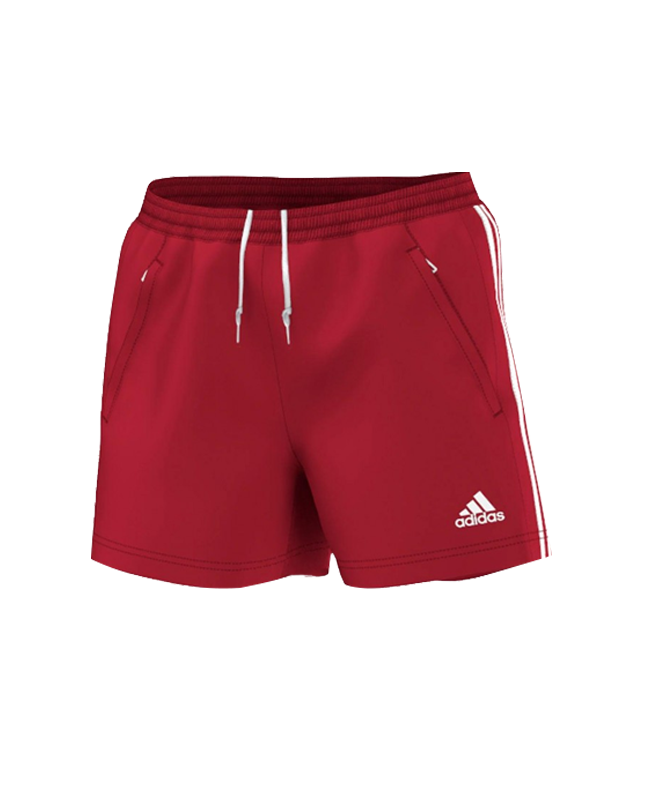 adidas T16 Clima Cool SHORTS WOMAN rot size S AJ5291 S