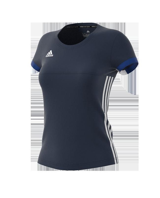 adidas T16 TEAM TEE WOMAN blau size XL AJ5302 XL