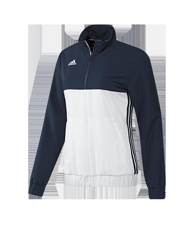 adidas T16 Team JKT WOMEN Jacke blau/weiss AJ5327 XXL