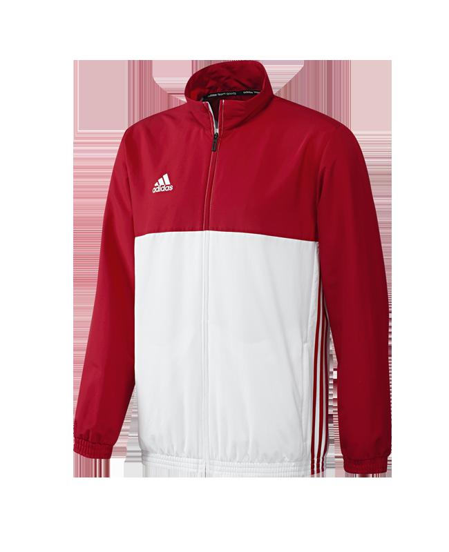 adidas T16 Team JKT MEN Jacke XL rot/weiss AJ5384 XL