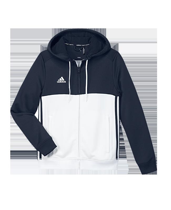 adidas T16 Hoody YOUTH 140 blau/weiss AJ5400 140