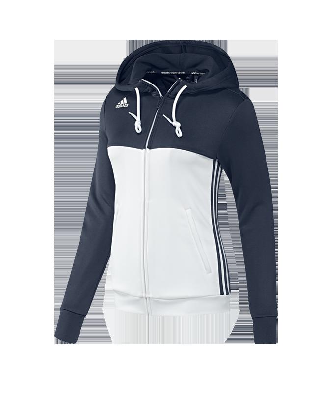 adidas T16 Hoody WOMEN XL blau/weiss AJ5405 XL
