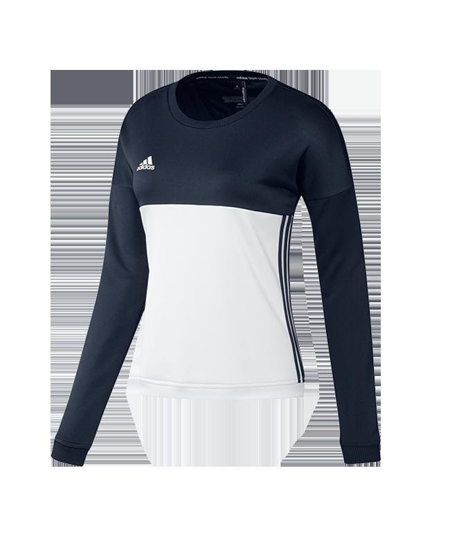 adidas T16 Crew Sweater S WOMAN blau AJ5415 S