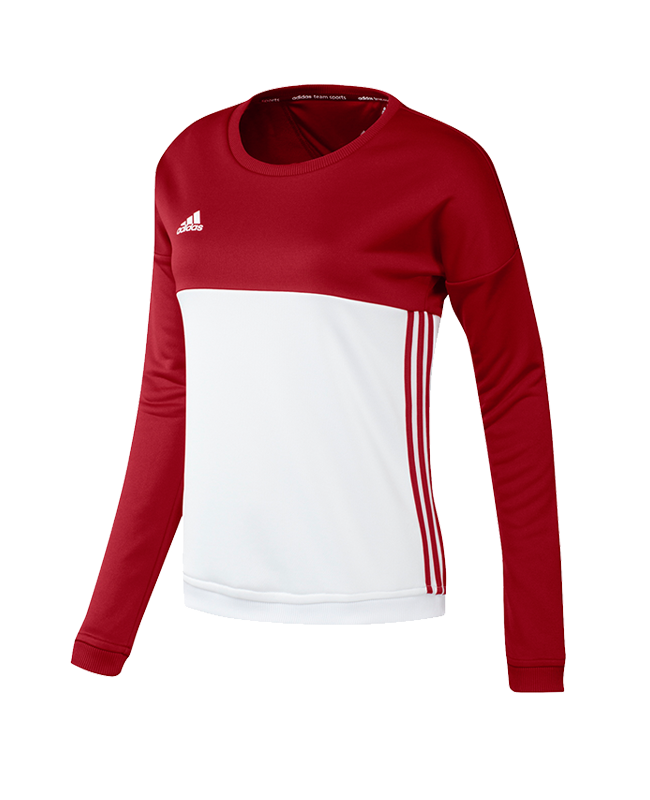 adidas T16 Crew Sweater XXL WOMAN rot AJ5416 XXL