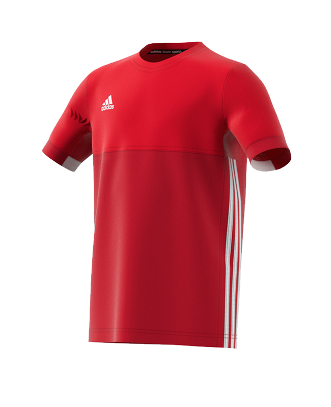 adidas T16 Climacool TEE YOUTH BOYS size 140 rot AJ5434 140