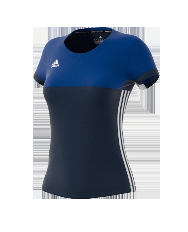 adidas T16 Climacool TEE Shirt WOMAN size S blau AJ5440 S