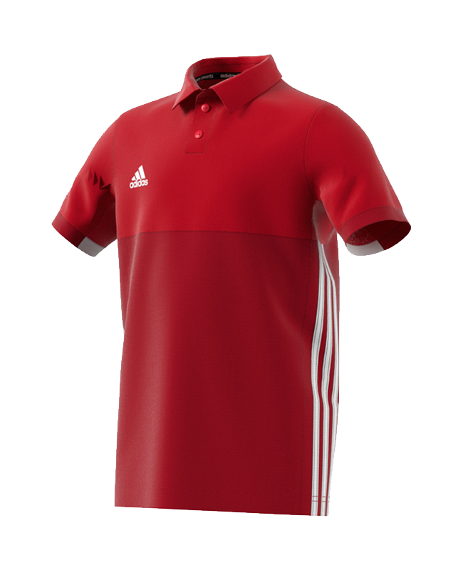 adidas T16 Climacool Polo Shirt  Youth BOYS rot AJ5472 140