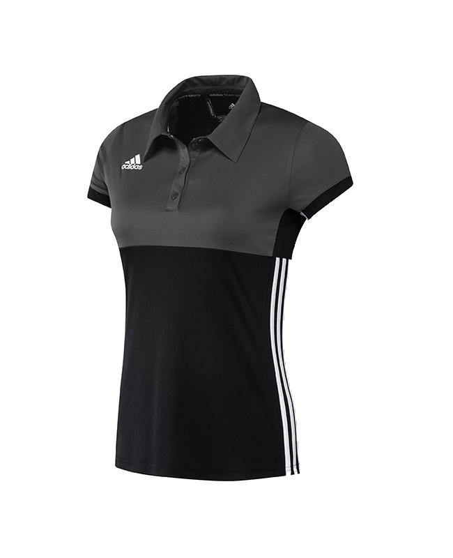 adidas T16 Climacool Polo Shirt WOMAN size M schwarz/grau AJ5475 M
