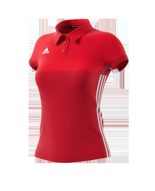 adidas T16 Climacool Polo Shirt WOMAN rot AJ5477 XS
