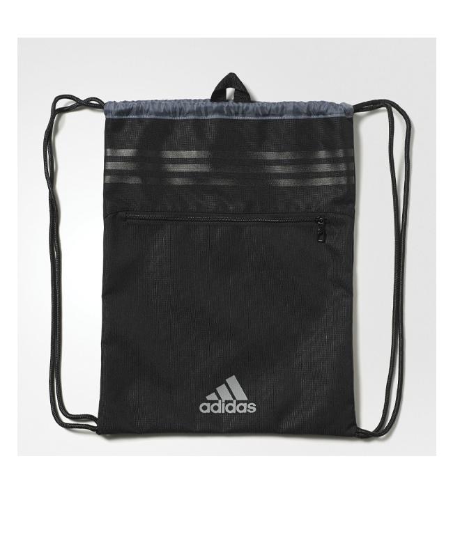 adidas 3-Streifen SPORTBEUTEL schwarz AK0005