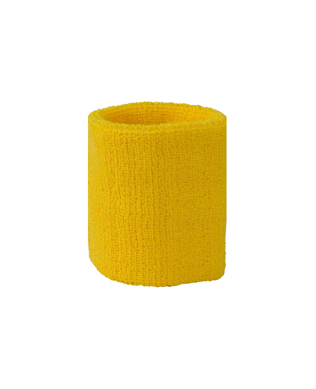 FW Kampfrichter Armstulpen Frottee Schweißband gelb gelb