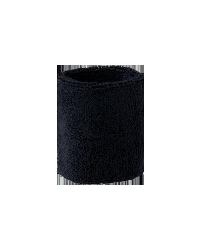 FW Kampfrichter Armstulpen Frottee Schweißband schwarz schwarz