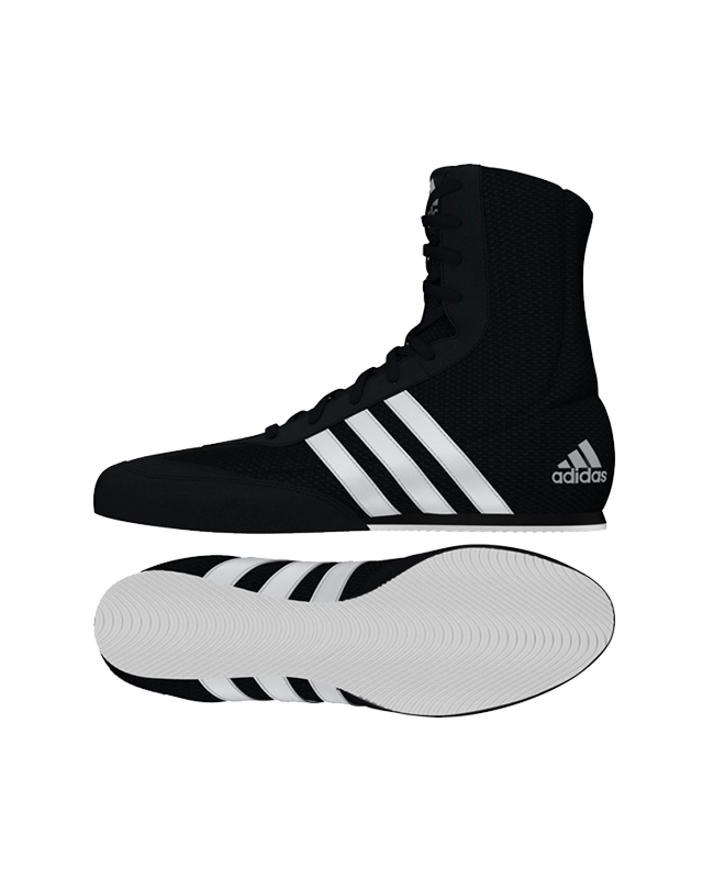 adidas BOX HOG 2 schwarz weiss BA7928 EU 41 1/3 UK7.5 EU41 1/3 UK7.5