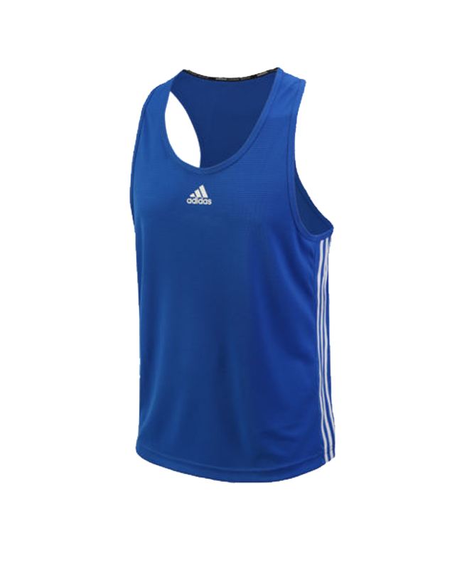 adidas Boxing Top Punch Line blau weiss size S ADIBTT02 S