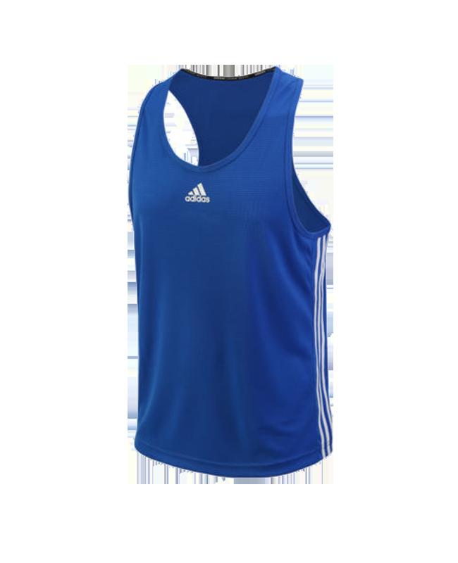 adidas Boxing Top Punch Line blau weiss size XS ADIBTT02 XS