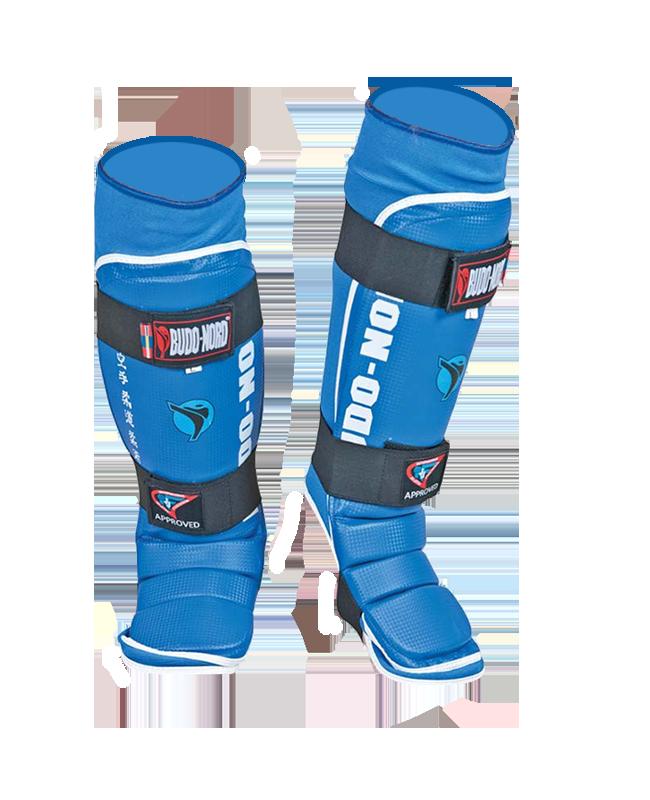 BN Jiu Jitsu Schienbein Ristschutz S blau IJJF approved S